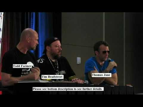 BONUS Video:  Thomas Jane panel at the Dallas Comic Con (May 2011)