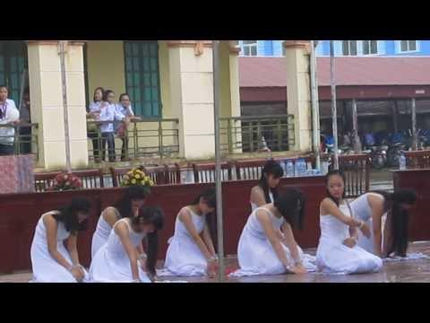 Khai giảng ngày 4-9-2013 trường THCS Nguyễn Huệ - Cẩm Giàng - HD