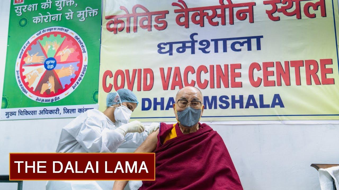 Dalai Lama Sudah Disuntik Vaksin COVID-19