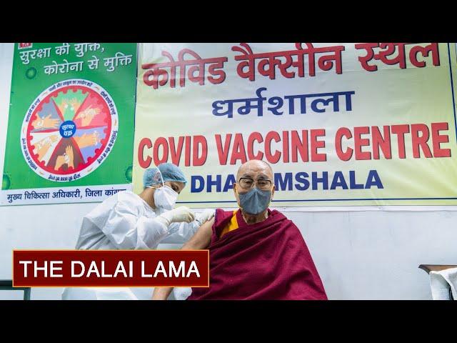 His Holiness the Dalai Lama Receives COVID-19 Vaccine