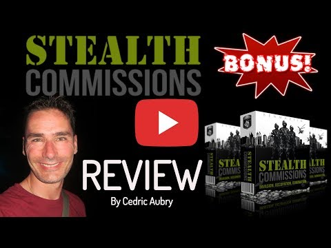 *HONEST* Stealth Commissions Review From A Real User - WATCH This Stealth Commissions Review FIRST!
