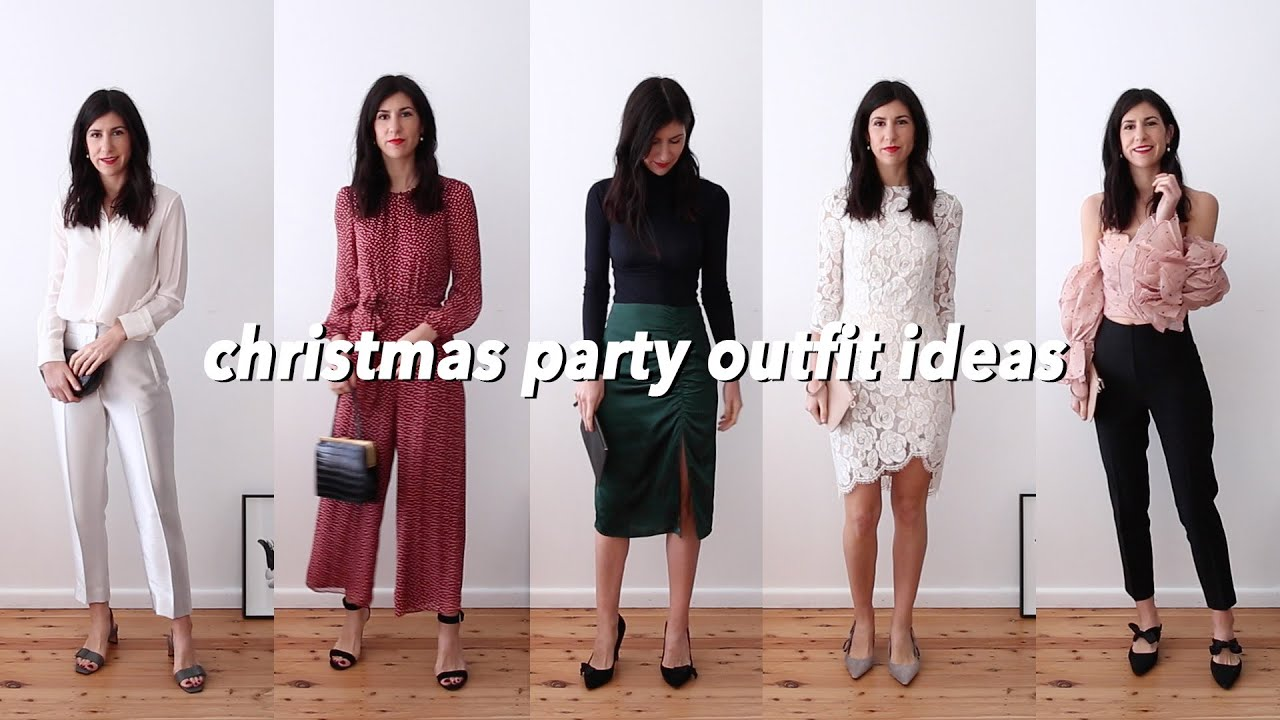 Christmas Party Outfit Ideas Five Outfits For The Festive Season Mademoiselle Youtube