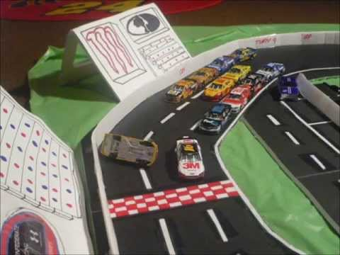 How To Make A Paper Race Car