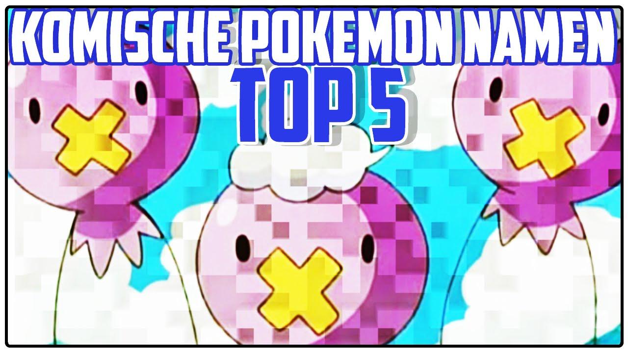 Lustige Pokemon Namen