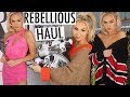 REBELLIOUS FASHION CLOTHING HAUL / £200 GIVEAWAY