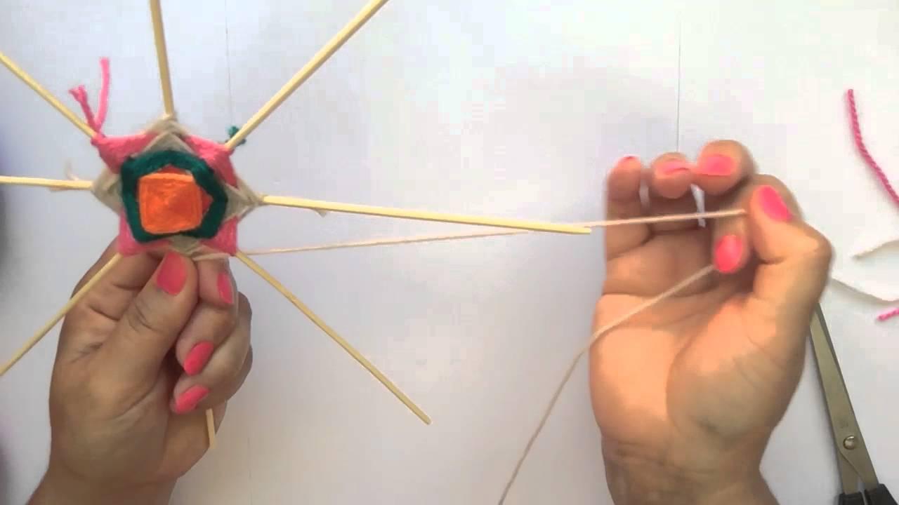 Tutorial de mandalas c mo hacer figuras geom tricas - Como hacer figuras con chuches ...