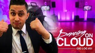 DJ GIG LOG: Dancing On a Cloud Effect | Chauvet Nimbus Dry Ice Fogger | BIG DJ Setup Walkthrough
