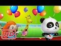 Fun Panda Sports Games - Kids Learn to Running & Swimming - Educational Game for Kids