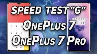 Speed Test G: OnePlus 7 vs OnePlus 7 Pro