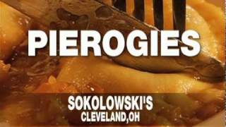 Mike Symon 'best Thing I Ever Ate' [  Sokolowskis Polish Restaurant Cleveland ] Pierogi