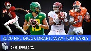 2020 NFL Mock Draft: Way-Too-Early Edition