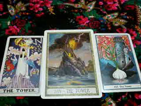 Tarot Tutorial 4 ~ Tower Card / Mars Energy