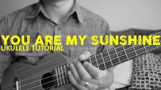 You Are My Sunshine - Johnny Cash (EASY Ukulele Tutorial) - Chords - How To Play
