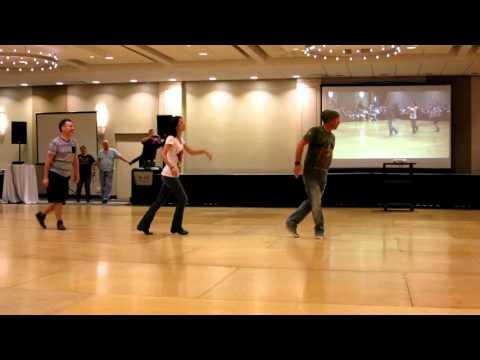 Cliche Love Song ~ Line Dance - Demo by Jo Thompson, Guyton Mundy & John Robinson @ 2015 WCLDM