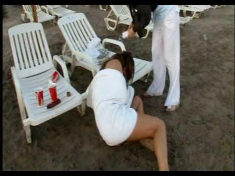 Bianca Gascoigne falls over drunk on photoshoot  YouTube
