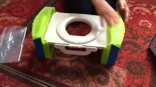 Cool Gear Travel Potty Review  GoAnyWhereToilet.com