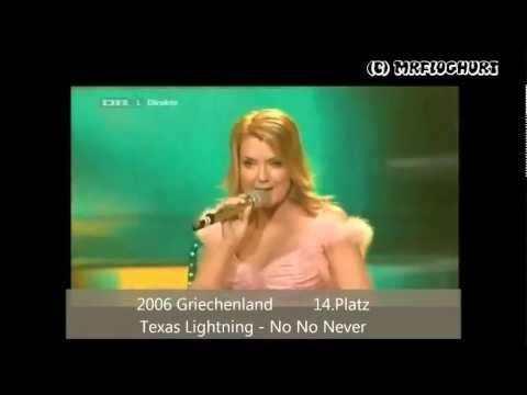Eurovision  Contest  Alle Deutschen Beiträge von 19912011
