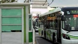 Electric buses from Sunwin