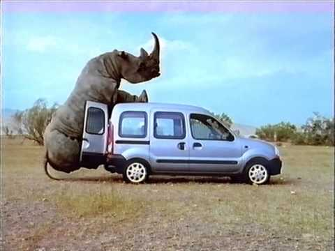 renault kangoo werbung nashorn 1999 youtube. Black Bedroom Furniture Sets. Home Design Ideas