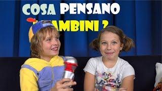 COSA PENSANO I BAMBINI Delle Bugie ? #1 - Kids Show - Video divertenti per bambini - Canale Nikita