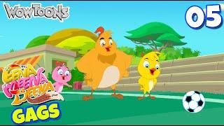 Eena Meena Deeka | New Gags 05 | Funny Cartoons for Kids | Wow Toons