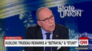 "Top Trump economic advisor Larry Kudlow: ""Trudeau stabbed us in the back"""