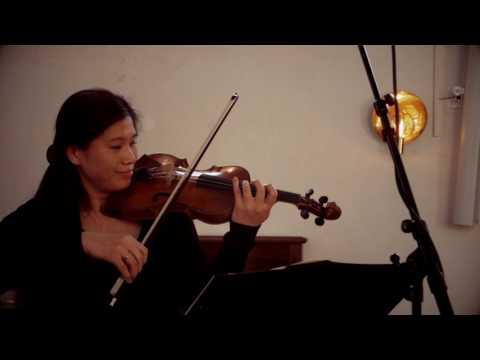 Mozart Sonata in G major, K.379. Duo Belder Kimura