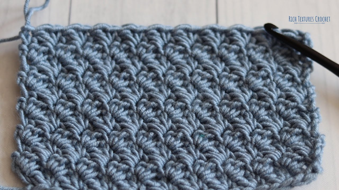 Suzette Stitch - How to Crochet