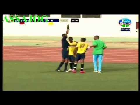 Djibouti: La finale de la coupe  AS PORT VS GR
