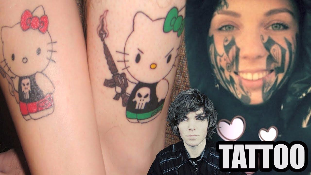 tattooed gf