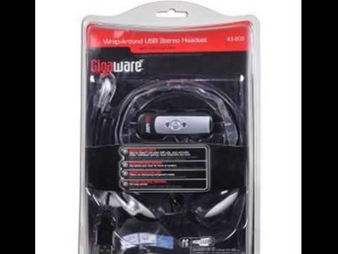 GIGAWARE PREMIUM WRAP-AROUND USB HEADSET DRIVER FOR WINDOWS
