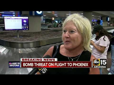 Anonymous threat causes police situation at Sky Harbor
