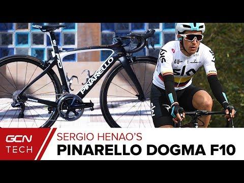 Sergio Henao's Custom Colombian Champion's Pinarello Dogma F10