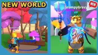 New Magic Forest World! (Roblox Mining Simulator Codes)