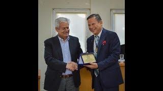 Βράβευση του καθηγητή Αριστείδη Τσατσάκη από το Δήμο Μαλεβιζίου
