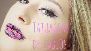 Tatuagem de lábios
