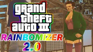 Grand Theft Auto III Rainbomizer 2.0 Speedrun - Randomizing Missions, Cutscenes, Weapons, and More!