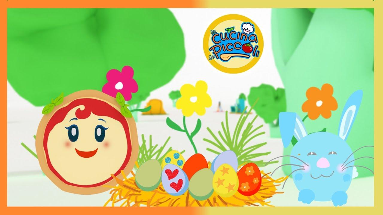 Cartoni Animati Per Bambini Margherita Colora Le Uova Giochi Per