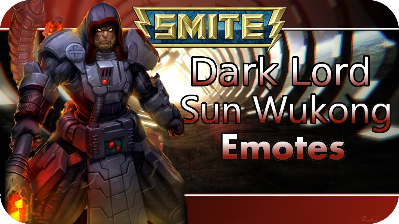 smite dark lord sun wukong emotes moebius gaming youtube