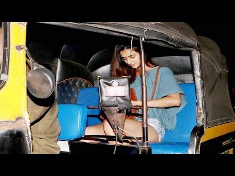 Thumbnail: Tiger Shroff's girlfriend Disha Patani's rickshaw ride after DINNER DATE
