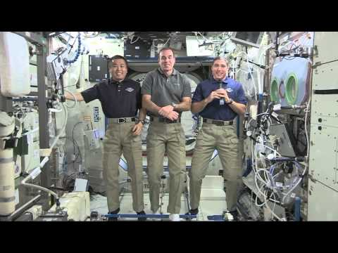 International Space Station Crew Discusses Life in Space with Temple University