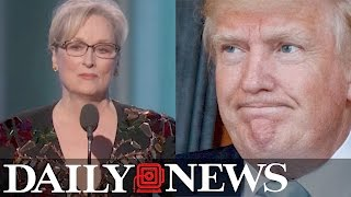 Donald Trump attacks Meryl Streep on Twitter