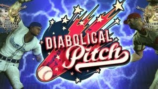DIABOLICAL PITCH Hands-on Gameplay for Kinect! Throw Baseballs at Zombies!