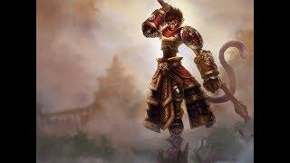 League of legends Вуконг МИД (квадракил)