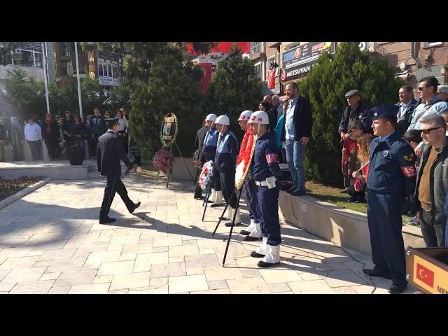 29 Ekim Cumhuriyet Bayramı Çelenk Koyma Töreni