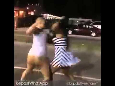 ratchet girls fighting it out... thumbnail