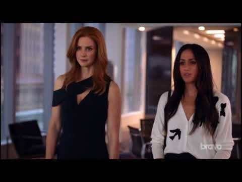 Donna And Rachel Put David Fox In His Place! (Girl Power!) - Suits 7x14 'Get Out Off My Office!'