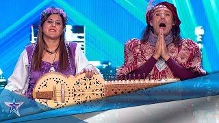 Un JUGLAR se atreve con los jueces del programa | Audiciones 9 | Got Talent España 5 (2019)