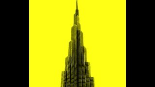 The Burj Khalifa - Paper model