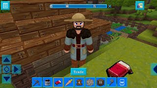 RealmCraft with Skins Export to Minecraft Gameplay #18 (iOS & Android) | Survival Mode Quest 33
